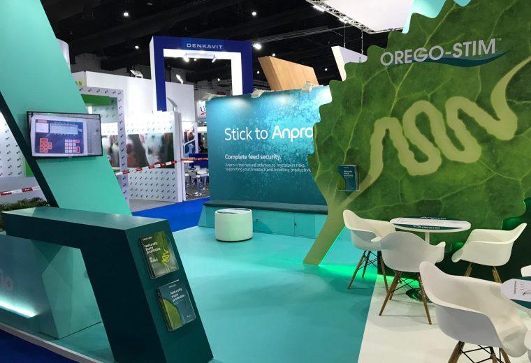 Anpario Stand design and build at VIV Asia BITEC in Bangkok