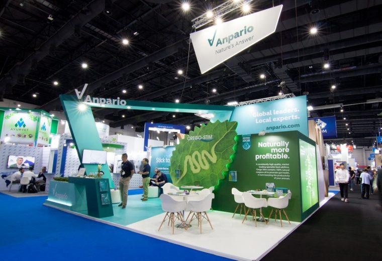 Anpario at VIV Asia stand design build at Bangkok International Trade & Exhibition Centre Thailand