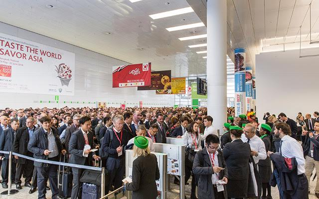 Anuga 2017 trade show at Koelmesse cologne, Germany