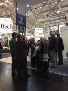 Anuga 2017 exhibition at the Koelnmesse Cologne, Germany