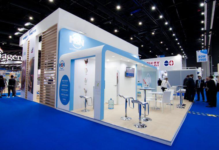 Bangkok stand design and build for VIV Asia
