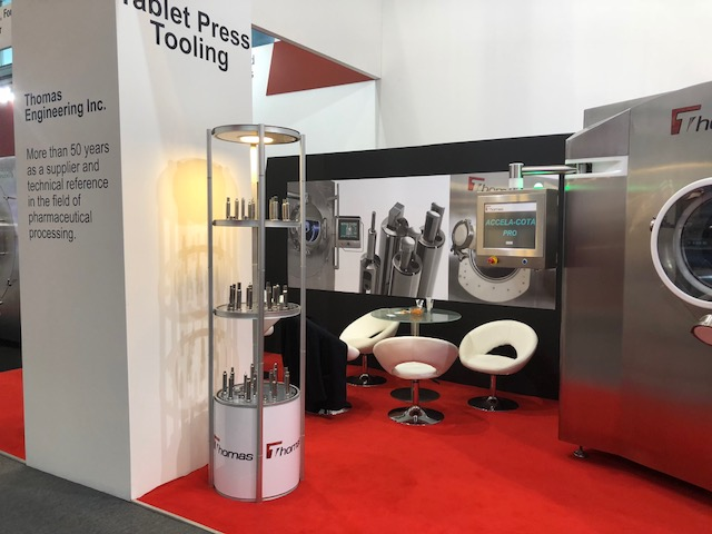 Exhibition stand design and build for Thomas at Achemat 2018 Frankfurt, Germany