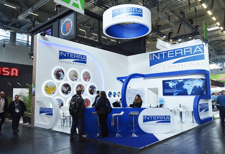 Bespoke exhibition stand for Interra at SIAL Koelnmesse