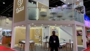 Bespoke exhibition stand for Tyson Foods at Gulfood DWTC