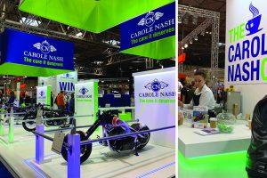 Carole Nash Custom built trade show stand at NEC Birmingham UK