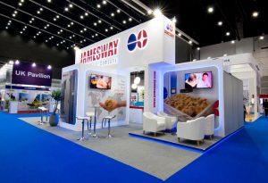 Creative stand design in Bangkok Thailand for Jamesway