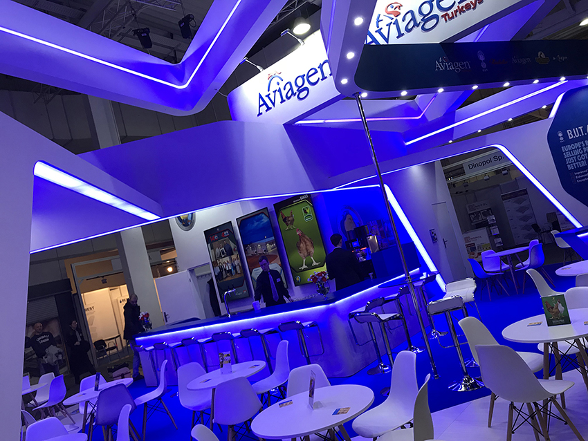 Creative stand design in Hannover-Germany