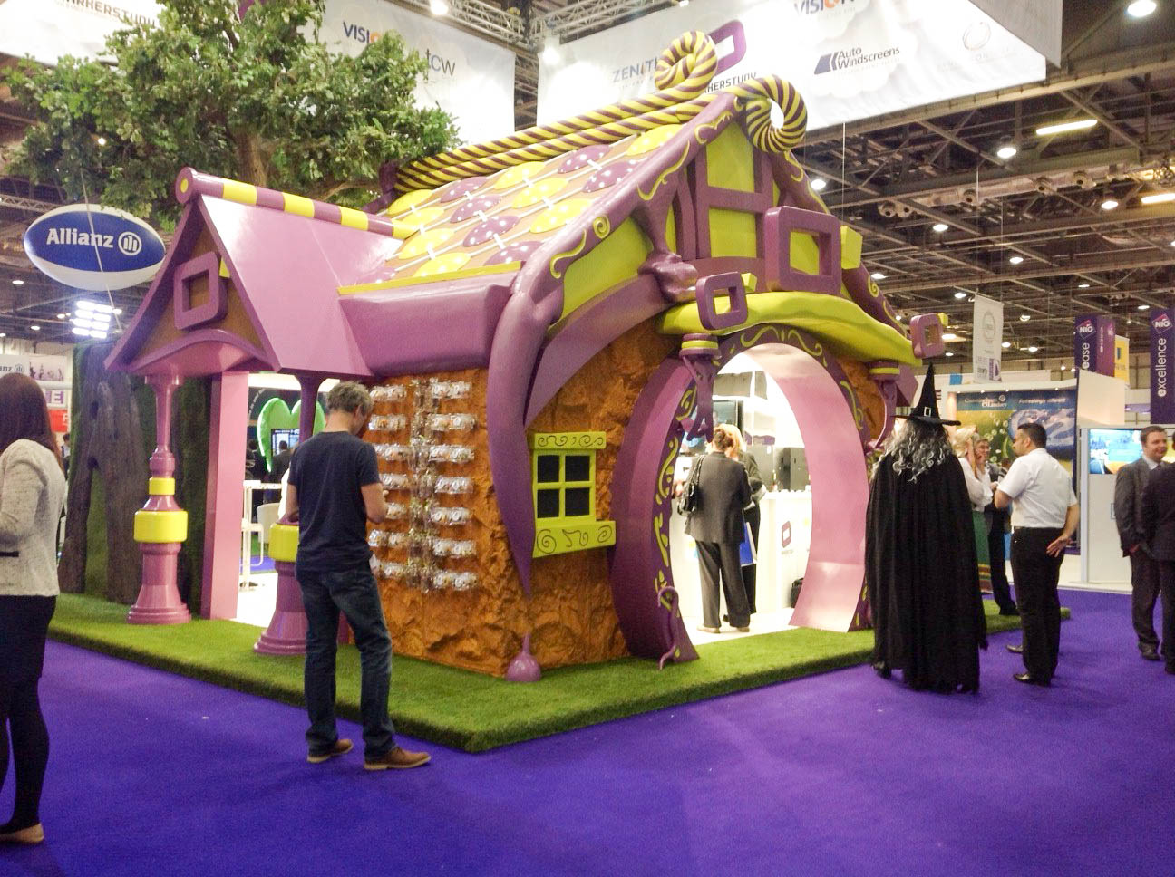"""""""Custom Exhibition stand for Marker Study at BIBA 2013"""""""