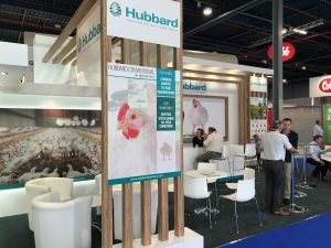 Exhibition booth design and build for Hubbard at VIV Europe Jaarbeurs Utrecht, The Netherlands