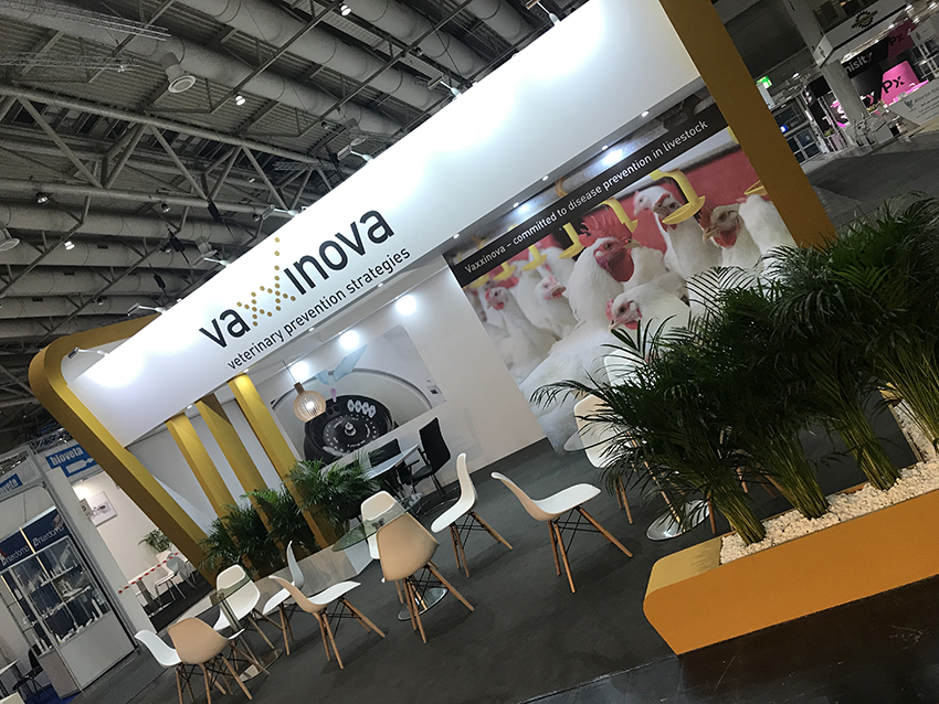 Custom-built exhibition stand for Eurotier in Hannover