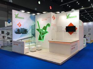 Custom built stand for Ridder Systems at VIV Asia in Bangkok Thailand