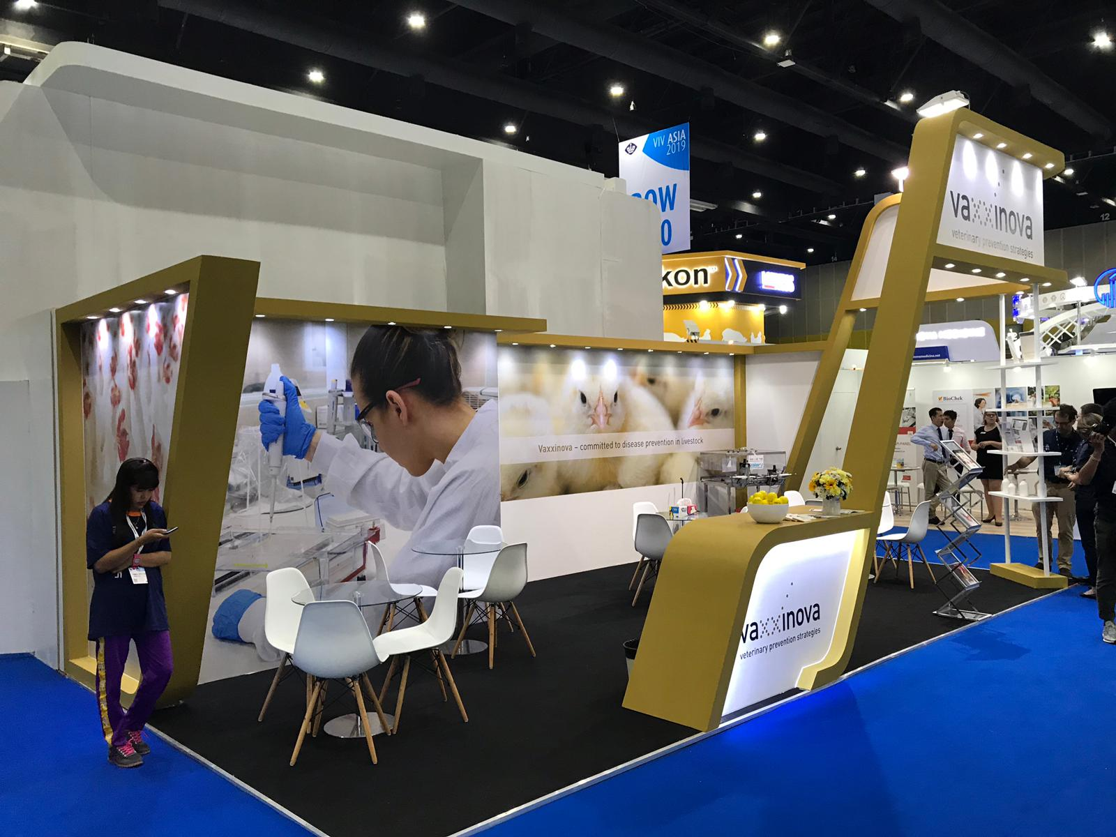Custom built stand at VIV Asia BITEC Bangkok