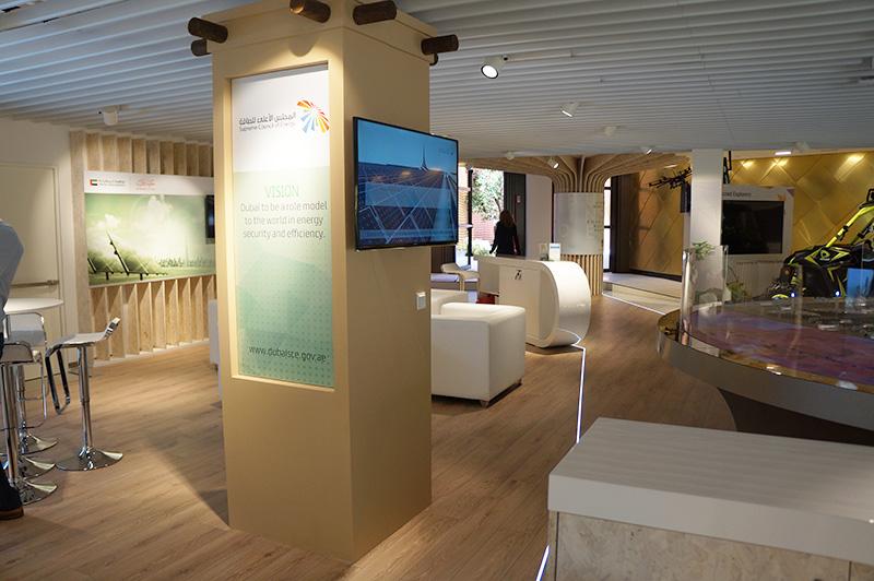 Bespoke exhibition booth Expo Milano 2015 UAE Pavilion, Milan