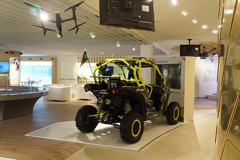 Etisalat co-exhibitor at Expo Milano exhibition 2015 - Milan, UAE Pavilion