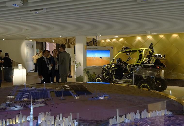 Etisalat co-exhibitor at Expo Milano 2015. Milan, Dubai Pavilion