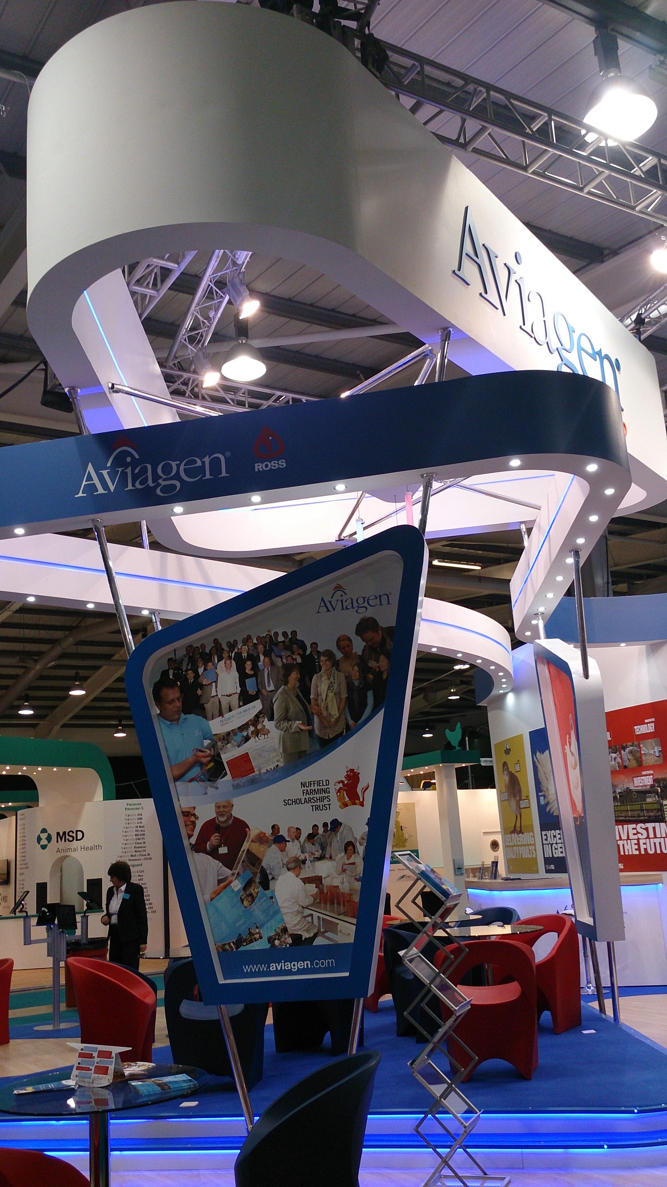 Aviagen-exhibition-stand-graphic