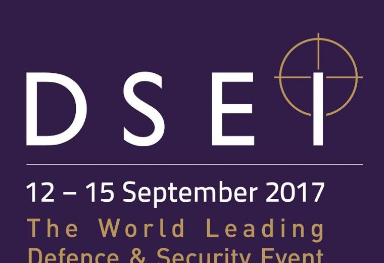 DSEI 2017 exhibition ExCel London, UK
