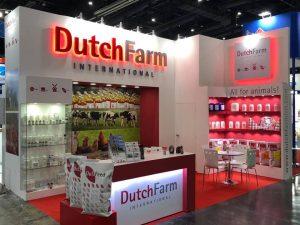 DutchFarm Trade show booth design in Bangkok at VIV Asia Thailand