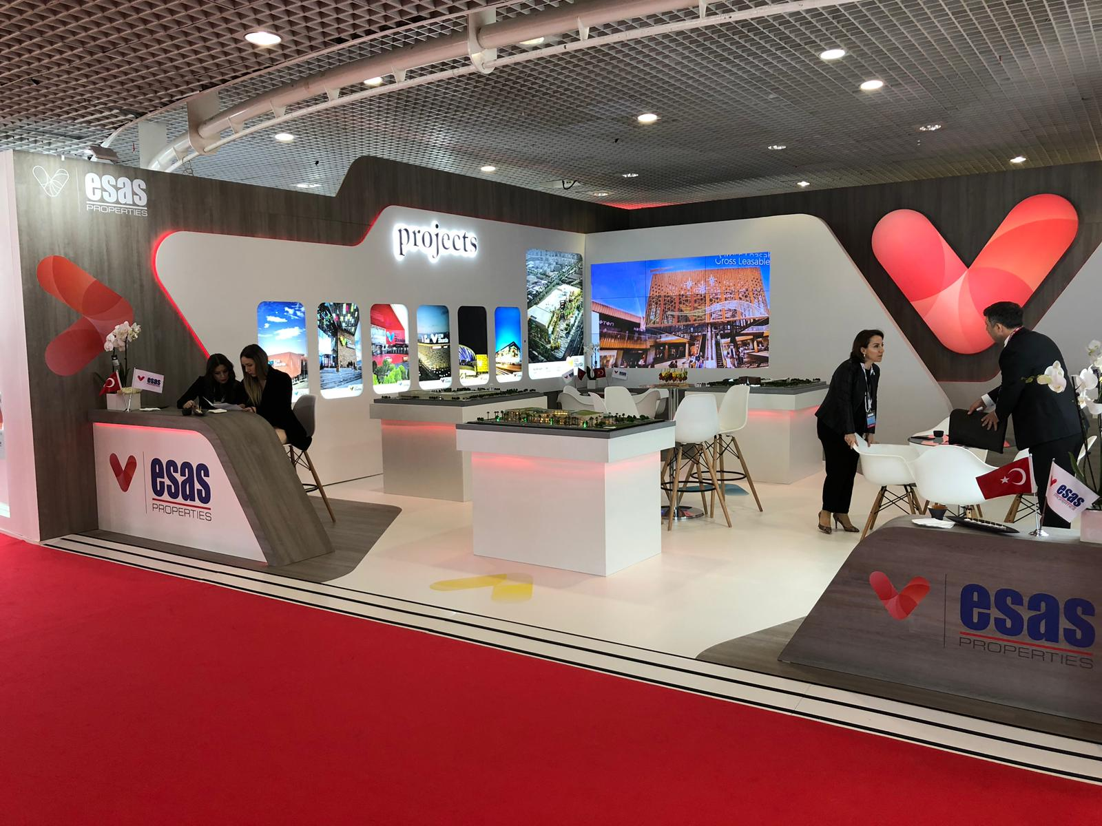 Esas Stand design and build at MIPIM in Cannes