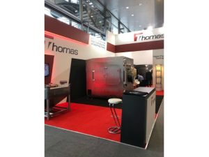 Bespoke exhibition stand at Achema 2018 Messe Frankfurt, Germany