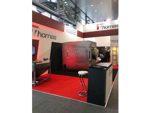 Bespoke exhibition stand at Achema 2018 Messe Frankfurt, Germany