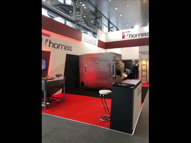 Exhibition stand design and build at Achema 2018 Frankfurt, Germany