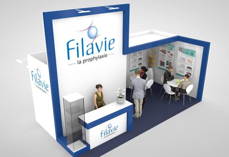 Exhibition stand design for European Exhibition Programme