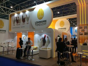 Lohmann at VIV Europe 2018 Utrecht bespoke exhibition stand design and build