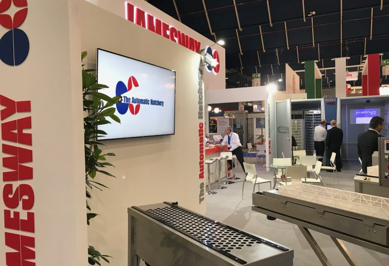 Jamesway at VIV Europe 2018 Utrecht bespoke exhibition stand design and build