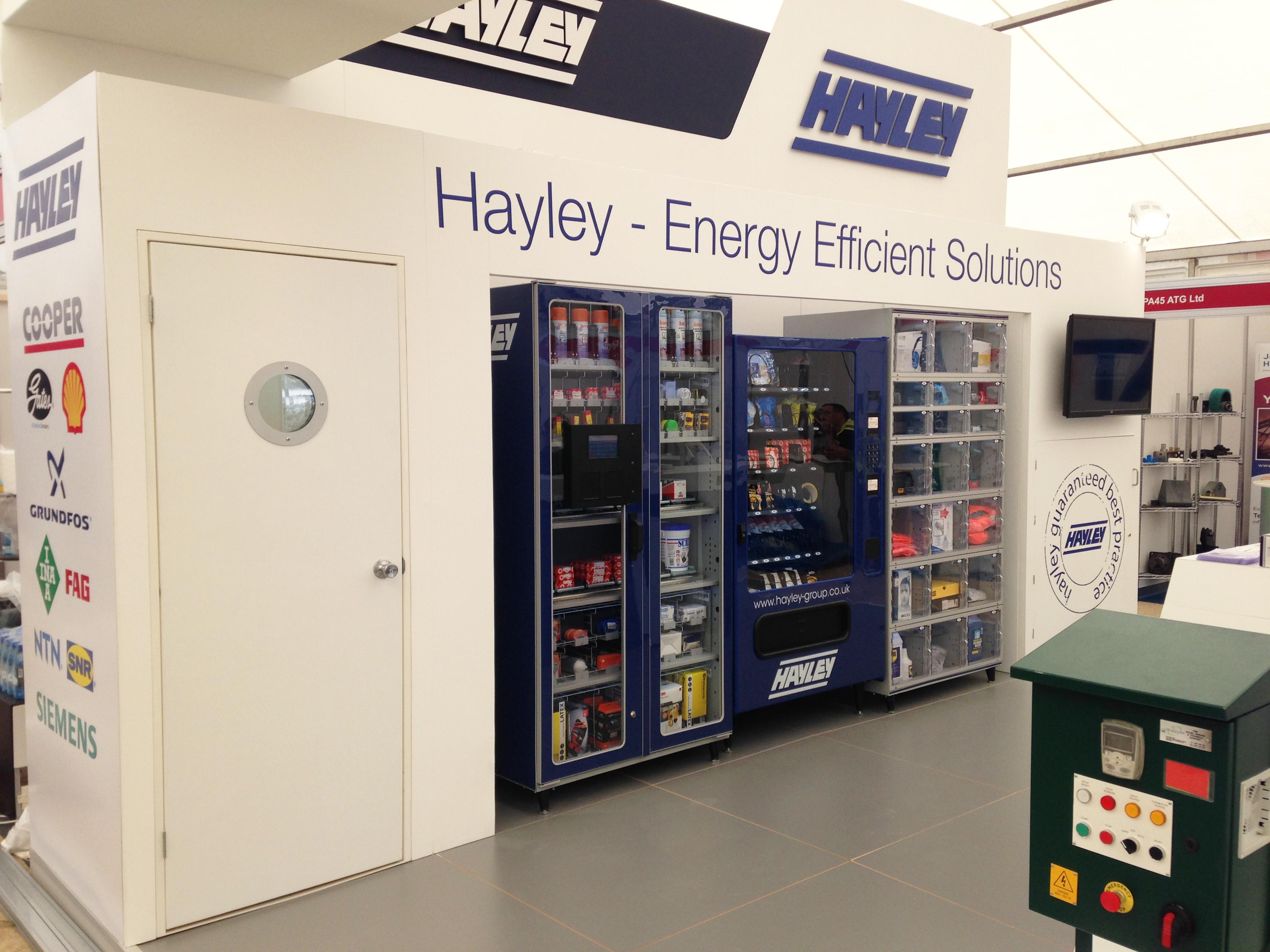 HAYLEY-Exhibition-stand-vending-machines