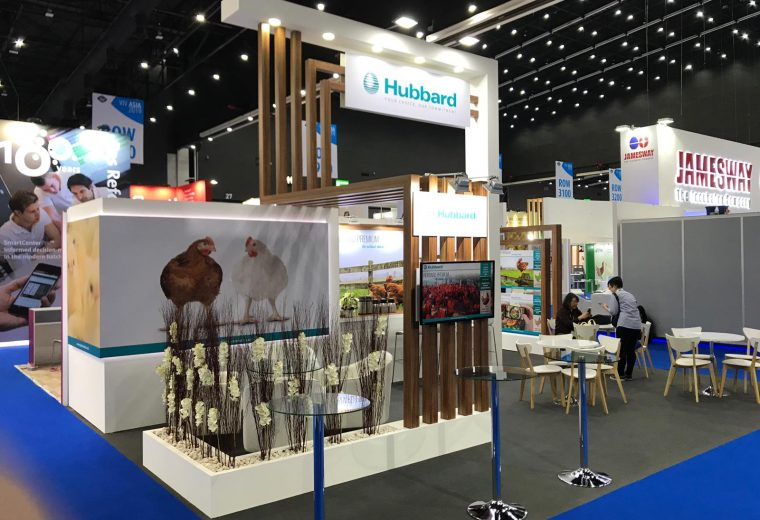 Hubbard Stand design and build at BITEC Thailand