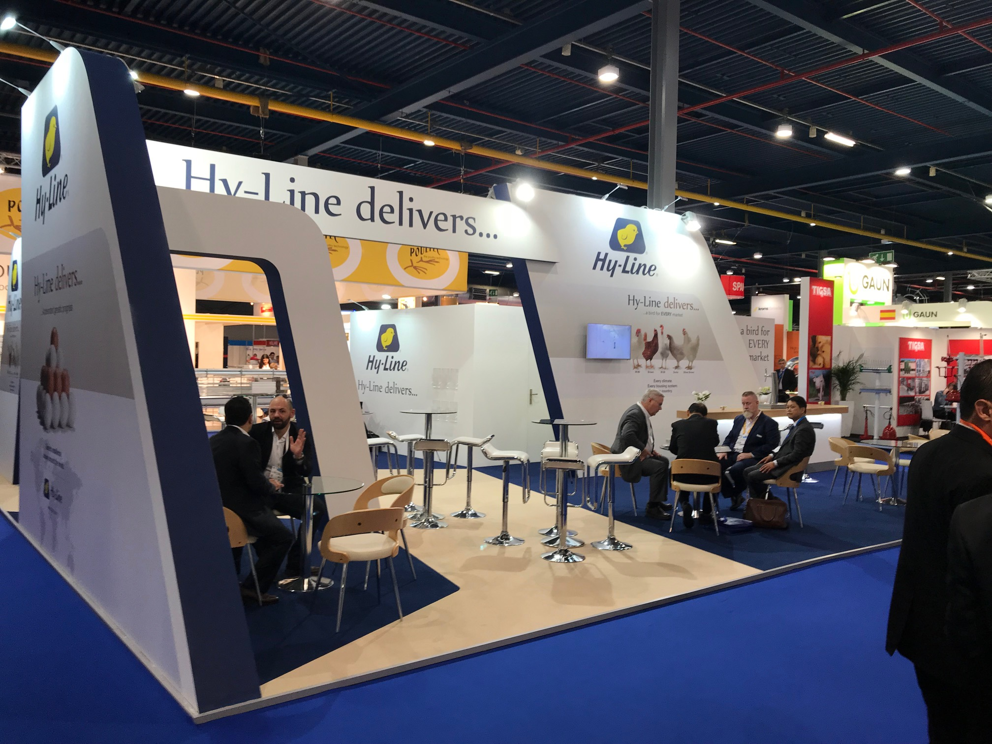 Exhibition stand design and build at VIV Europe 2018