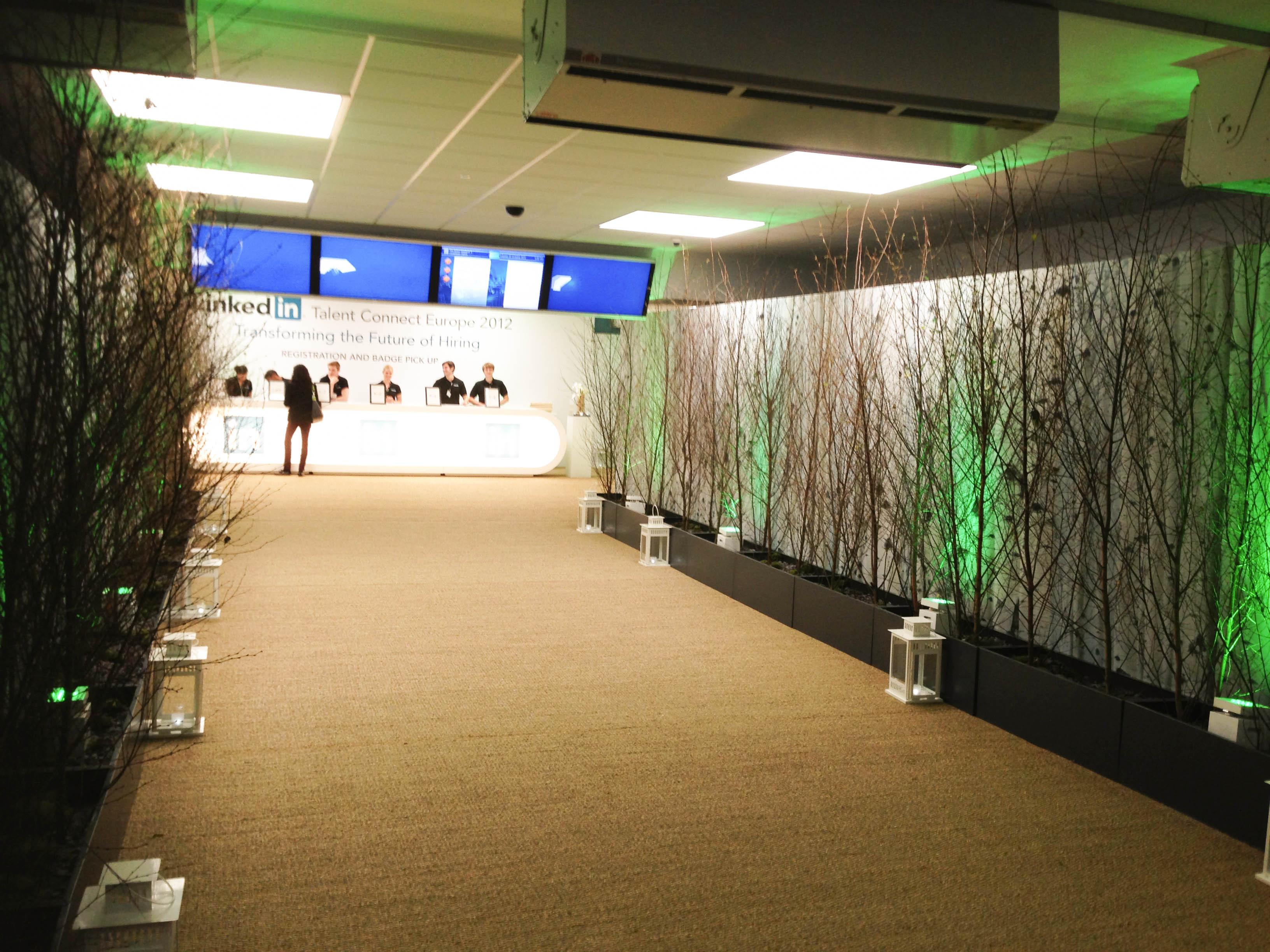 """""""Registration entrance at Linkedin Talent Connect Europe 2012"""""""