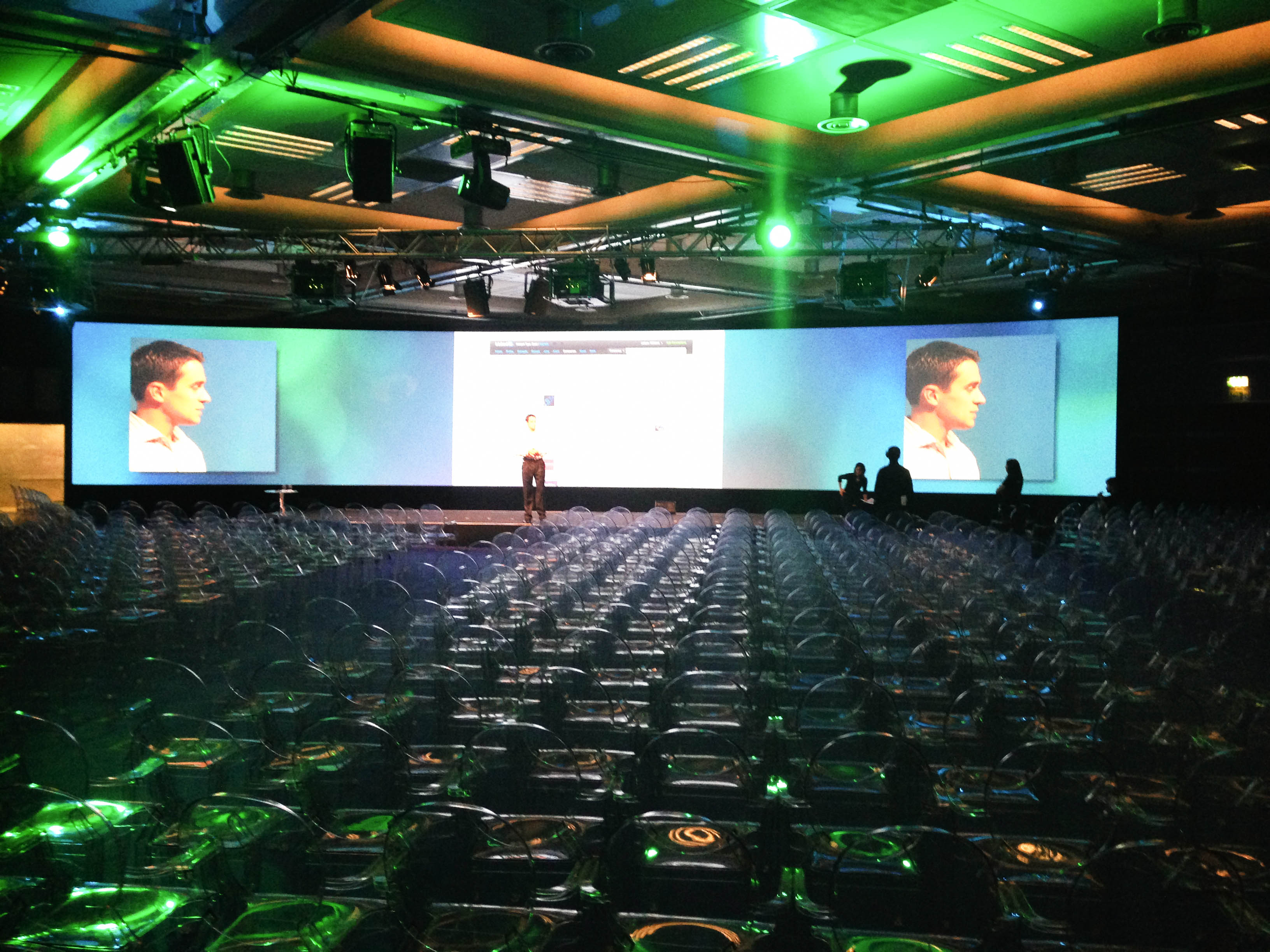 """""""Main stage speaker at Linkedin Talent Connect Europe 2012"""""""