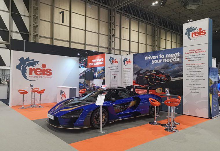 Modulaar stand for Autosport at NEC Birmingham