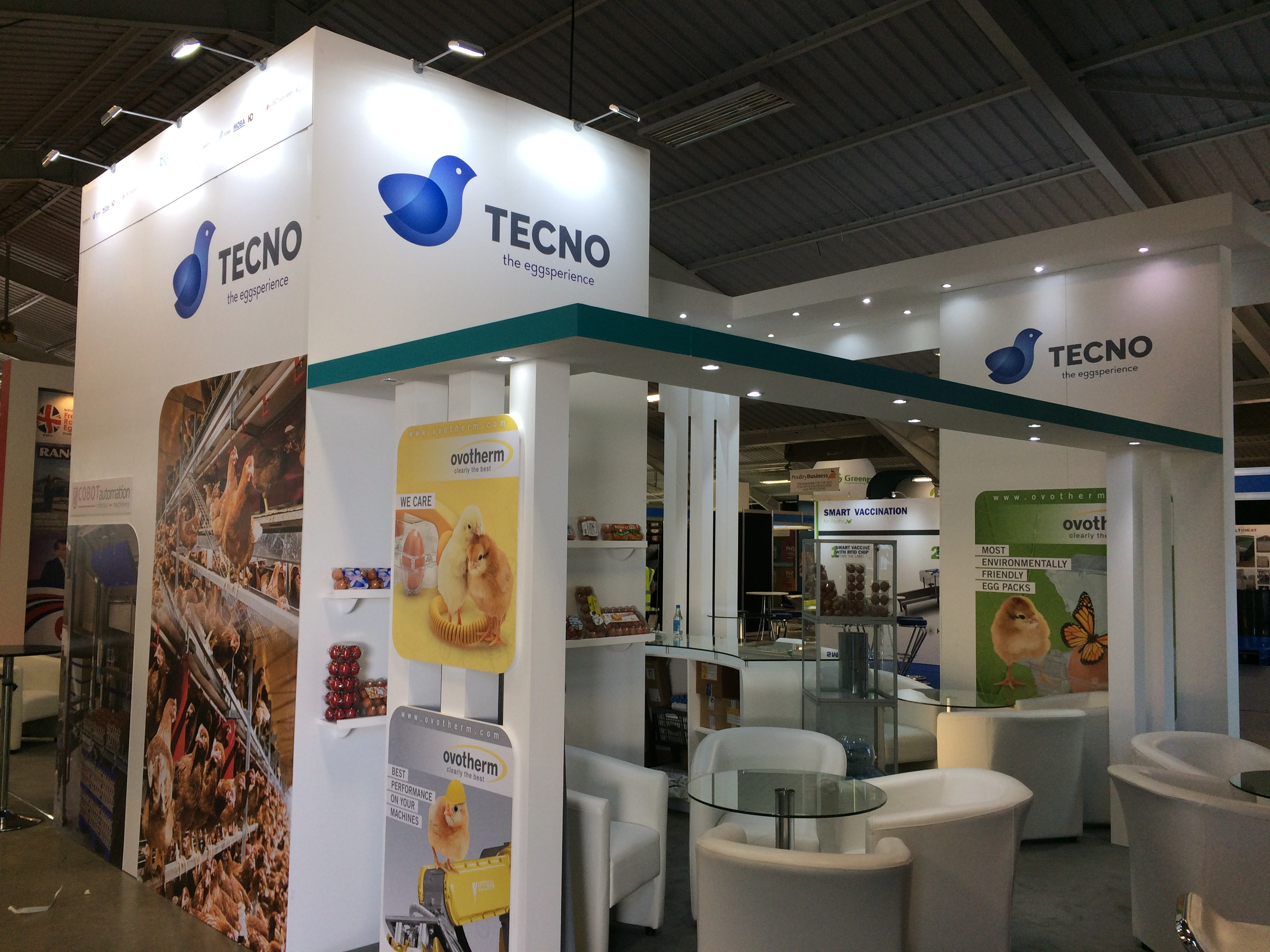 Stand design and build at NAEC Stoneleigh UK for Pig & Poultry 2018