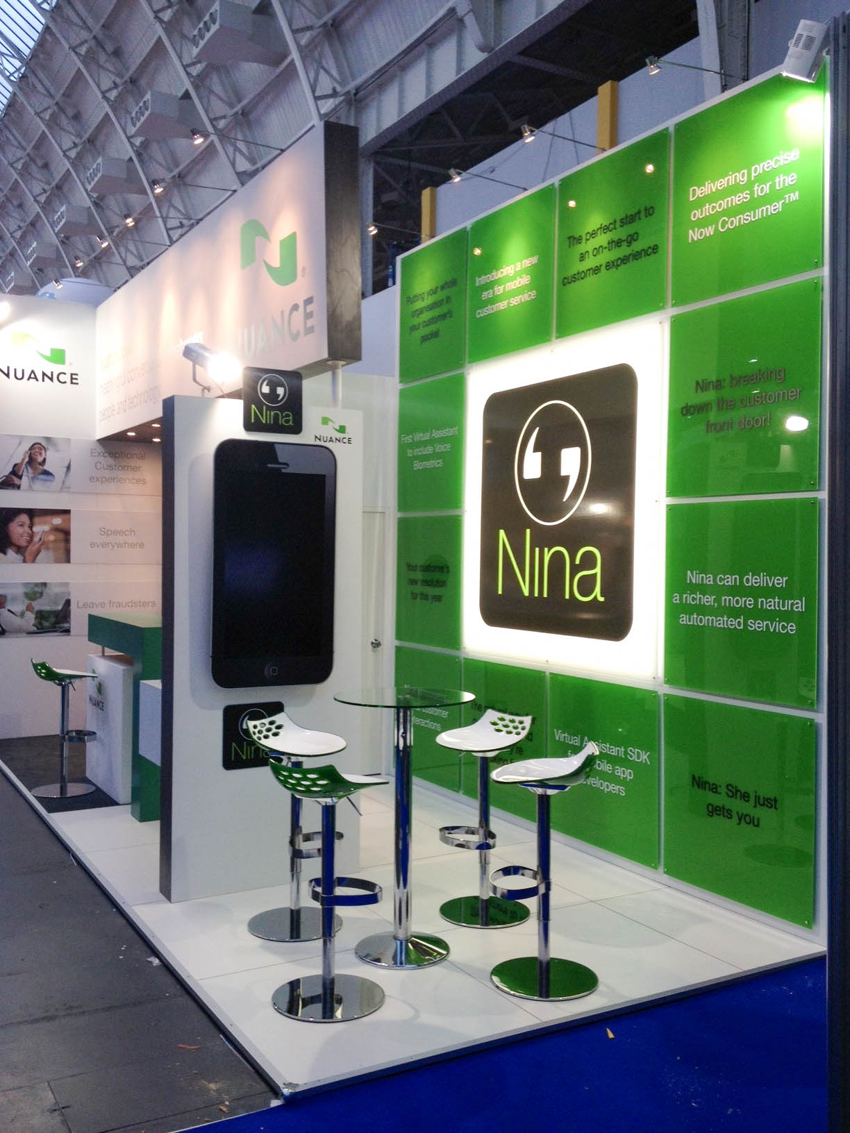 """""""Exhibitions stand for Nuance at CC Expo 2012"""""""