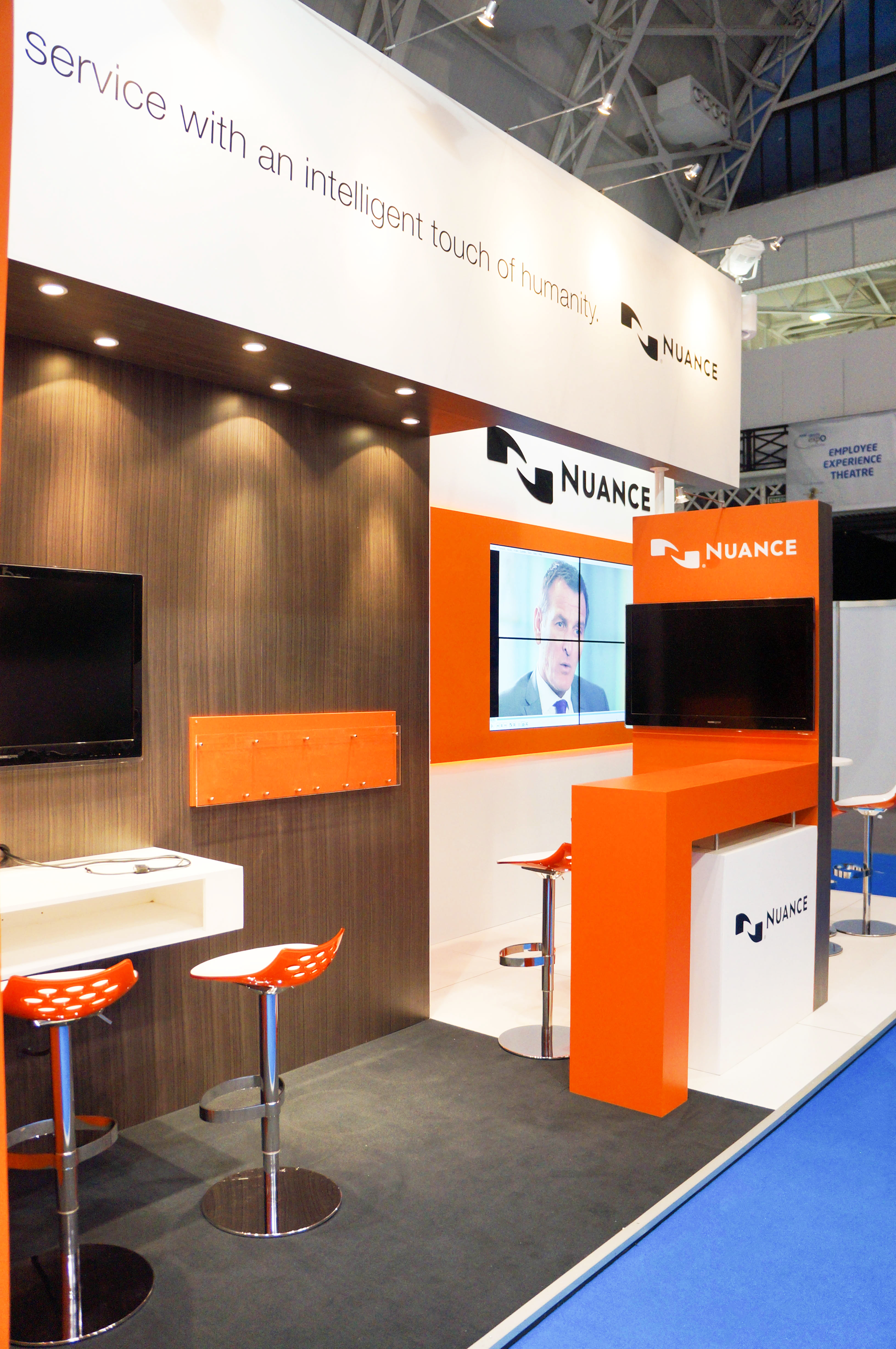 """""""Exhibitions stand for Nuance at CC Expo 2013"""""""