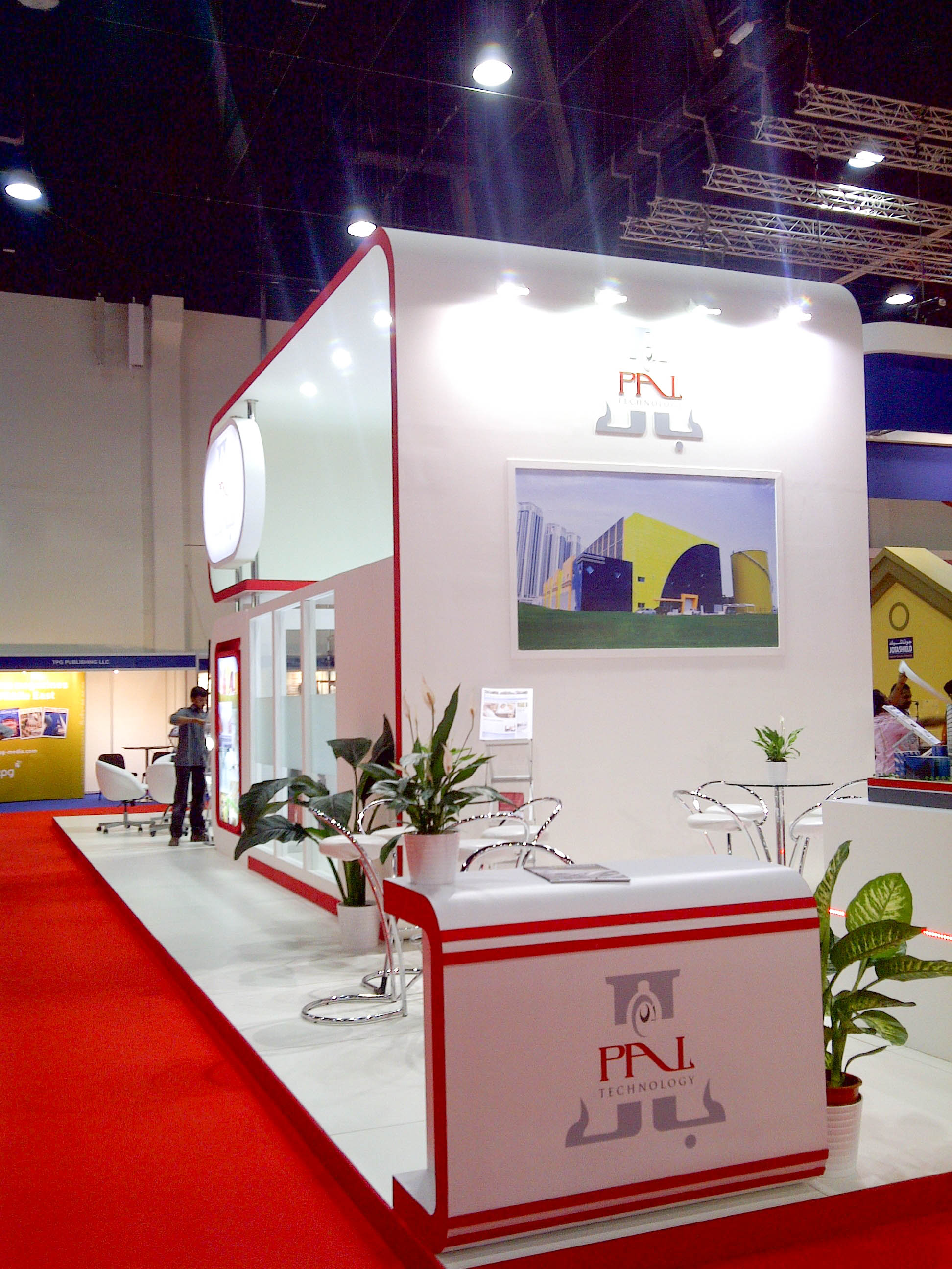 """""""Exhibition stand for Pal Tech at Arab Construction"""""""