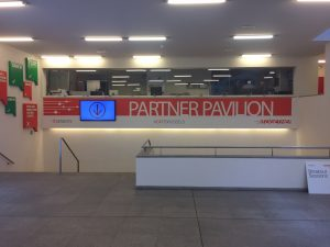 Entrance to the Partner Pavillion