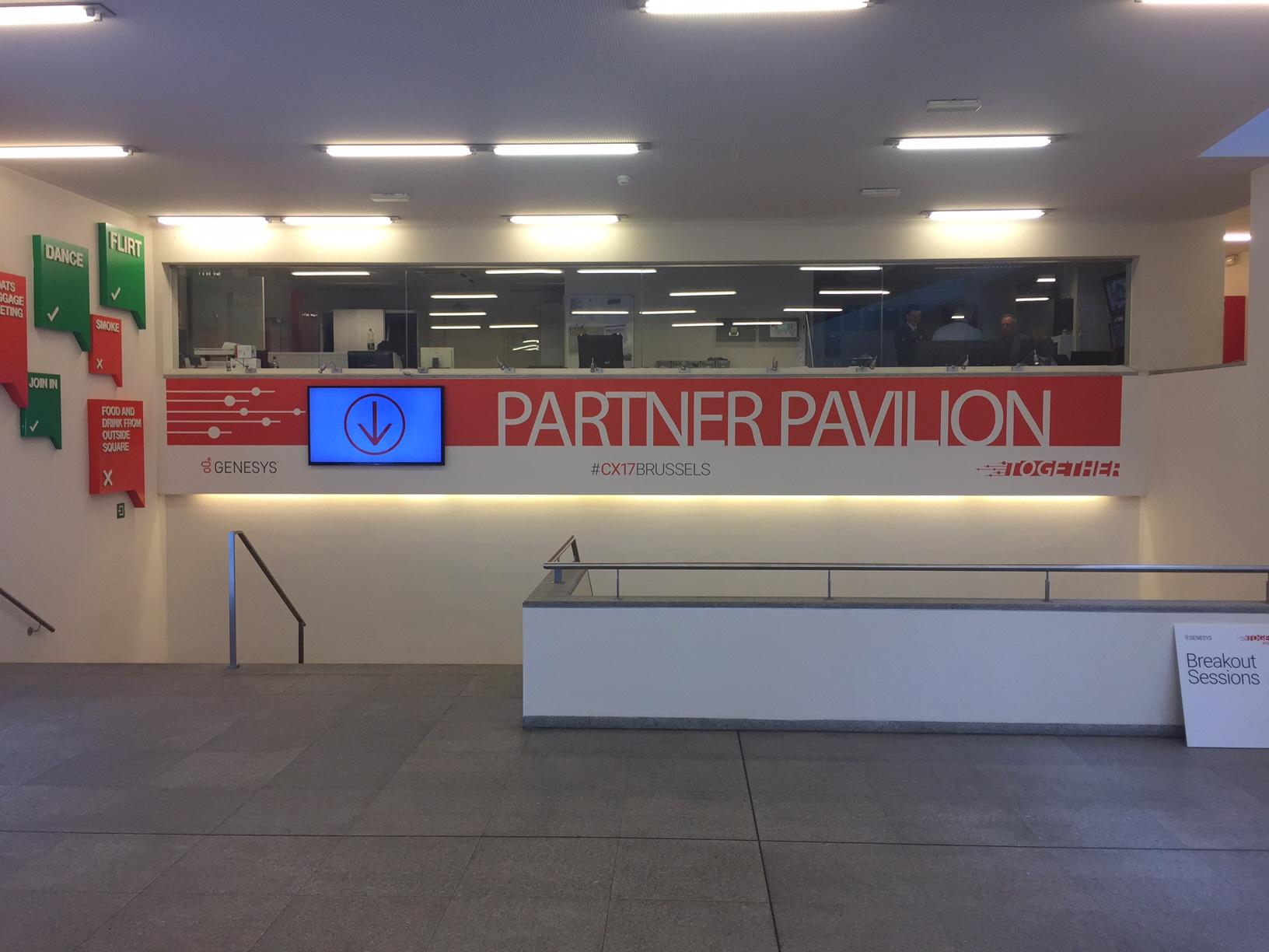Entrance to the Partner Pavillion
