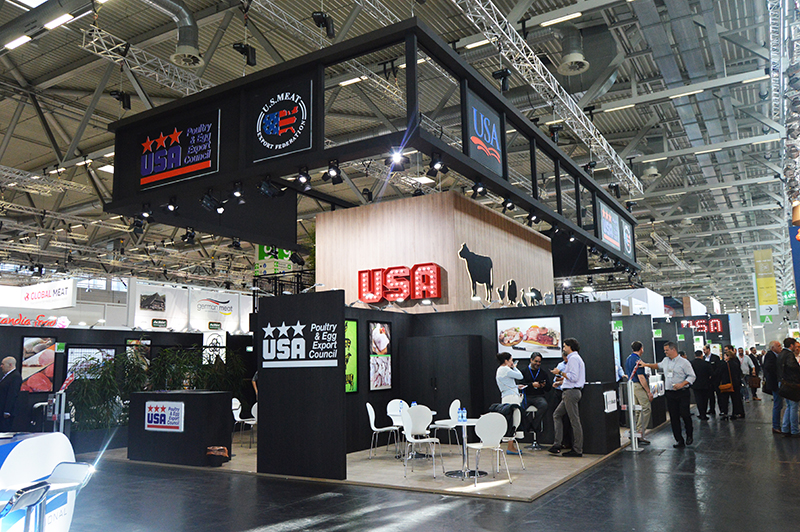USMEF and USAPEEC Stand design and build at Anuga in Cologne