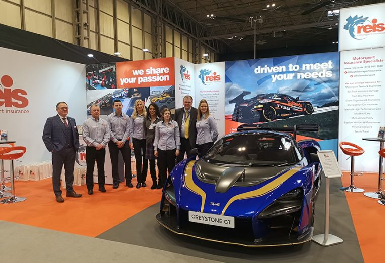 Stand design and build for Autosport at NEC