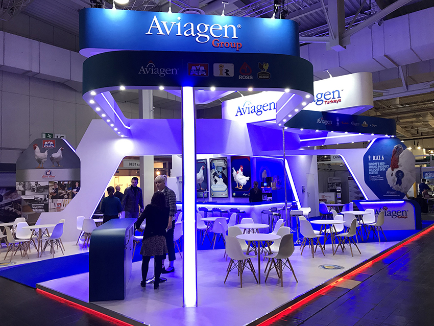 Stand design and build for Eurotier in Hannover