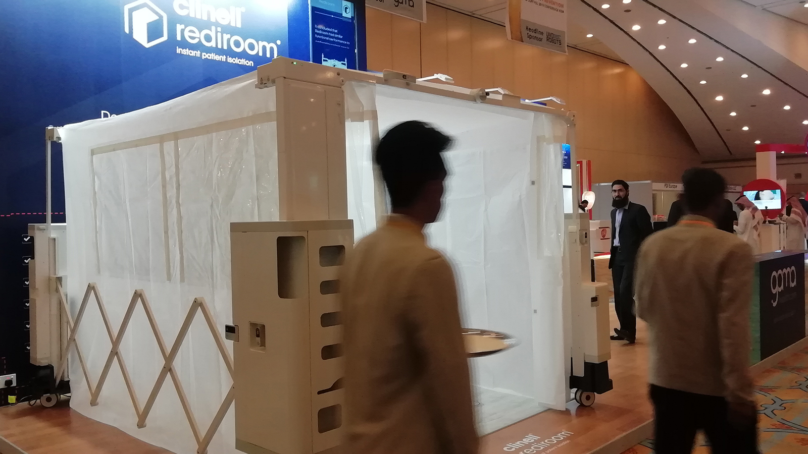 Stand design and build for Gamma Healthcare at Infection Prevention and Control