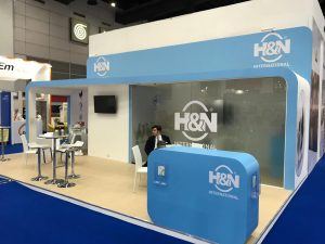 Stand design and build for H&N at VIV Asia in Bangkok