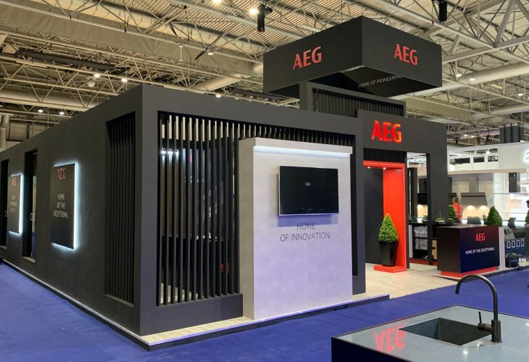 Stand design and build at KBB NEC
