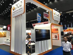 Stand design and build at VIV Asia in Bangkok for Once Inc