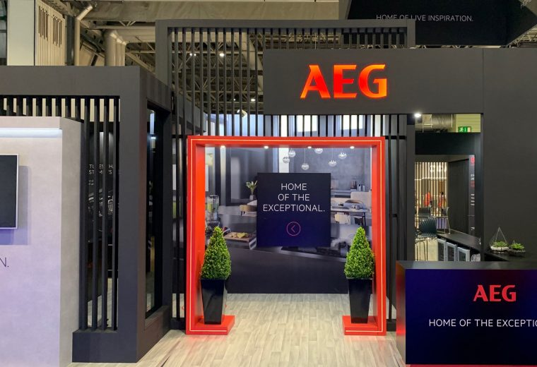 Trade show booth design NEC KBB UK