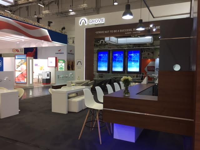Trade show design and build at Anuga 2017 Koelnmesse Cologne, Germany